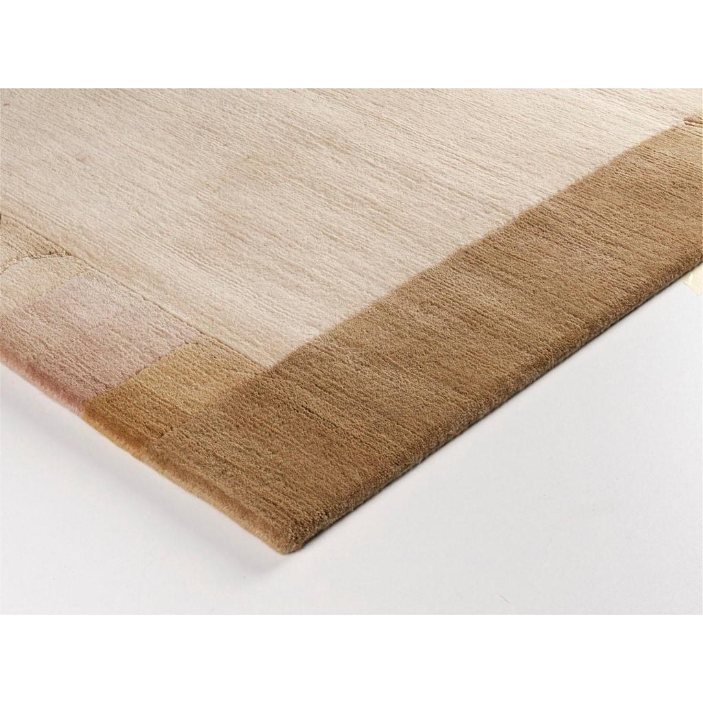 OCI DIE TEPPICHMARKE Teppich »Mandala Silk«, rechteckig, 6 mm Höhe, handgeknüpft, Wohnzimmer