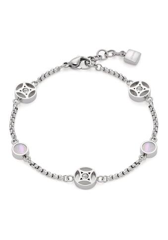 LEONARDO Armband »Larina, 019566«, mit Kristallglas - mit Perlmutt kaufen