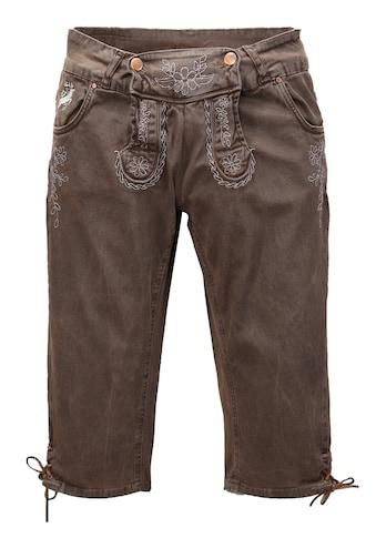 Hangowear Trachtenhose, mit seitlicher Beinschnürung kaufen