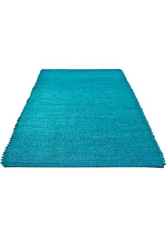 Home affaire Teppich »Hanf Uni«, rechteckig, 5 mm Höhe, Wohnzimmer kaufen