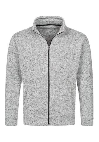 Stedman Fleecejacke »Outdoor Knitted«, mit Stehkragen kaufen