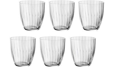 BOHEMIA SELECTION Gläser-Set »Georgia«, (Set, 6 tlg.), 260 ml, 6-teilig kaufen