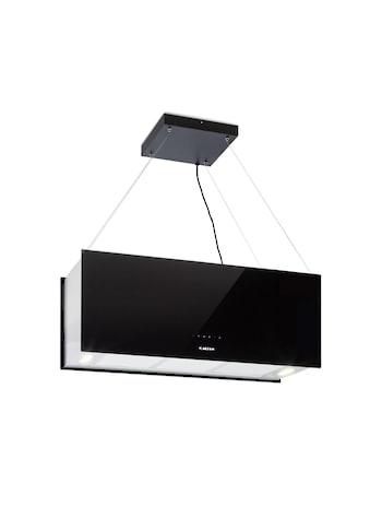 Klarstein Inselabzugshaube 90cm Umluft 590m³/h LED Touch schwarz »Kronleuchter XL« kaufen