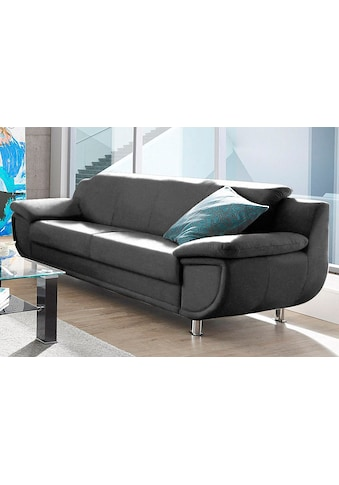 TRENDMANUFAKTUR 3-Sitzer, wahlweise mit komfortablem Federkern, mit extra breiten... kaufen