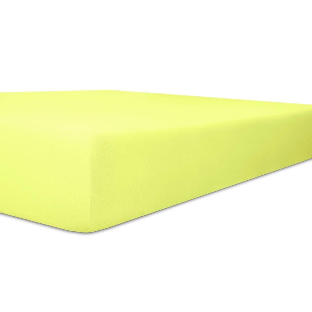 Kneer Spannbettlaken »Easy-Stretch«, optimaler Sitz