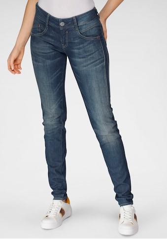 Herrlicher Slim-fit-Jeans »GILA SLIM CASHMERE«, mit Figur streckendem Beinverlauf kaufen