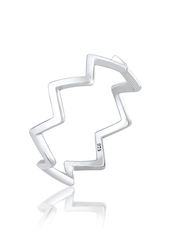 Elli Fingerring »Geo Zick Zack Trend Blogger 925 Sterling Silber« kaufen