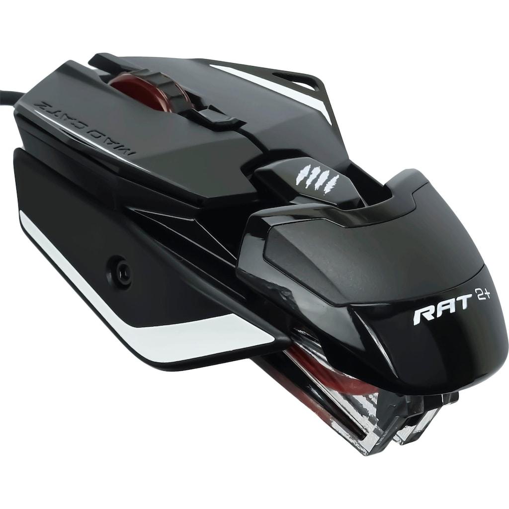 Mad Catz Gaming-Maus »R.A.T. 2+«, kabelgebunden