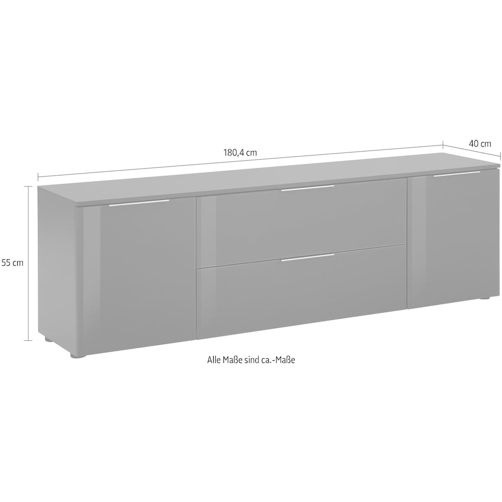 Maja Möbel Lowboard »7820 TREND«, Breite 180 cm