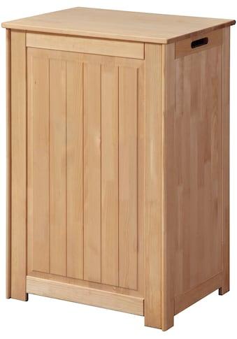 welltime Wäschekorb »Venezia«, Breite 51 cm, aus Massivholz kaufen