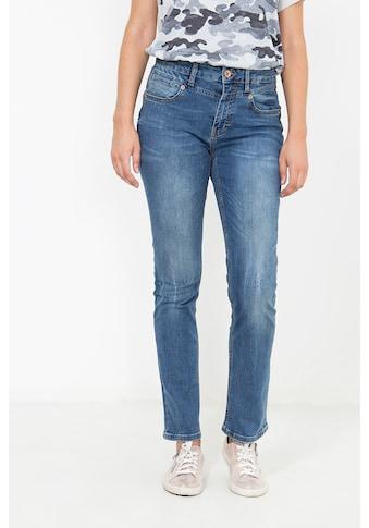 ATT Jeans High-waist-Jeans »Lea«, mit Paspeltasche, Straight Fit kaufen