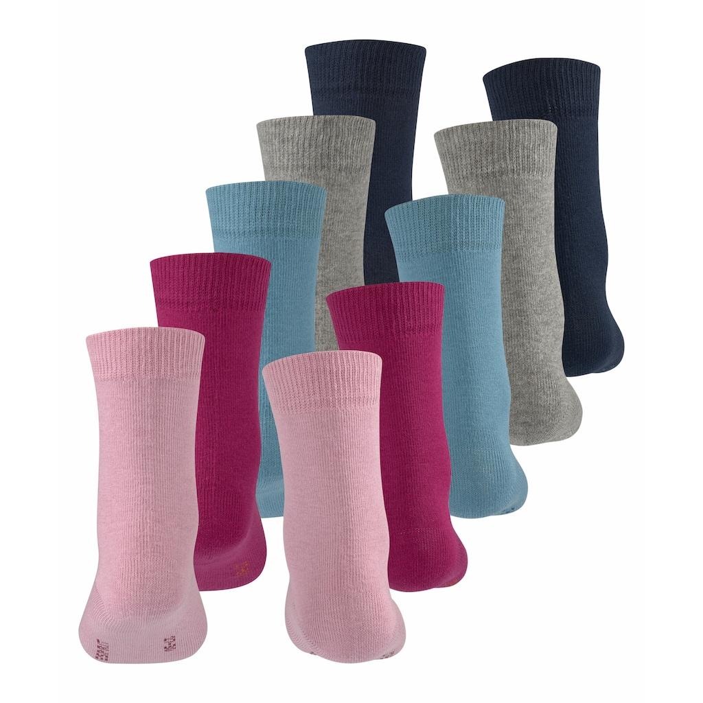 Esprit Socken »Solid Mix 5-Pack«, (5 Paar), aus hautfreundlicher Baumwolle
