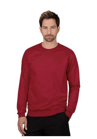 Trigema Sweatshirt aus Biobaumwolle kaufen