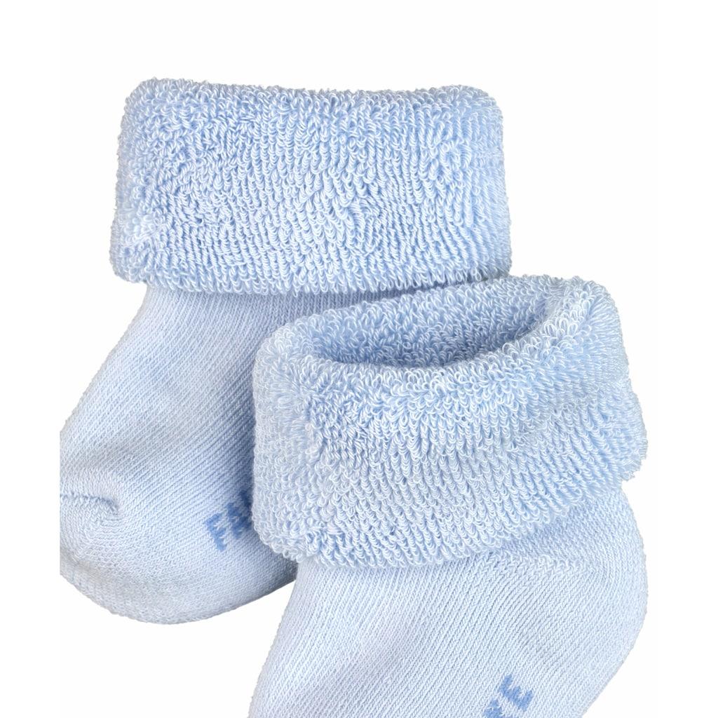 FALKE Socken »Erstling«, (1 Paar), aus kuschelweicher Baumwolle