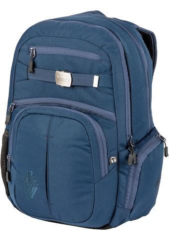 NITRO Schulrucksack »Hero, Indigo«, mit Laptopfach kaufen