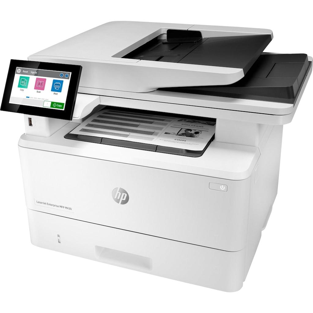 HP Multifunktionsdrucker »LaserJet Enterprise MFP M430f«