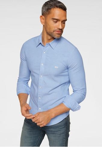 Levi's® Langarmhemd, mit Logo-Badge auf der Brust kaufen