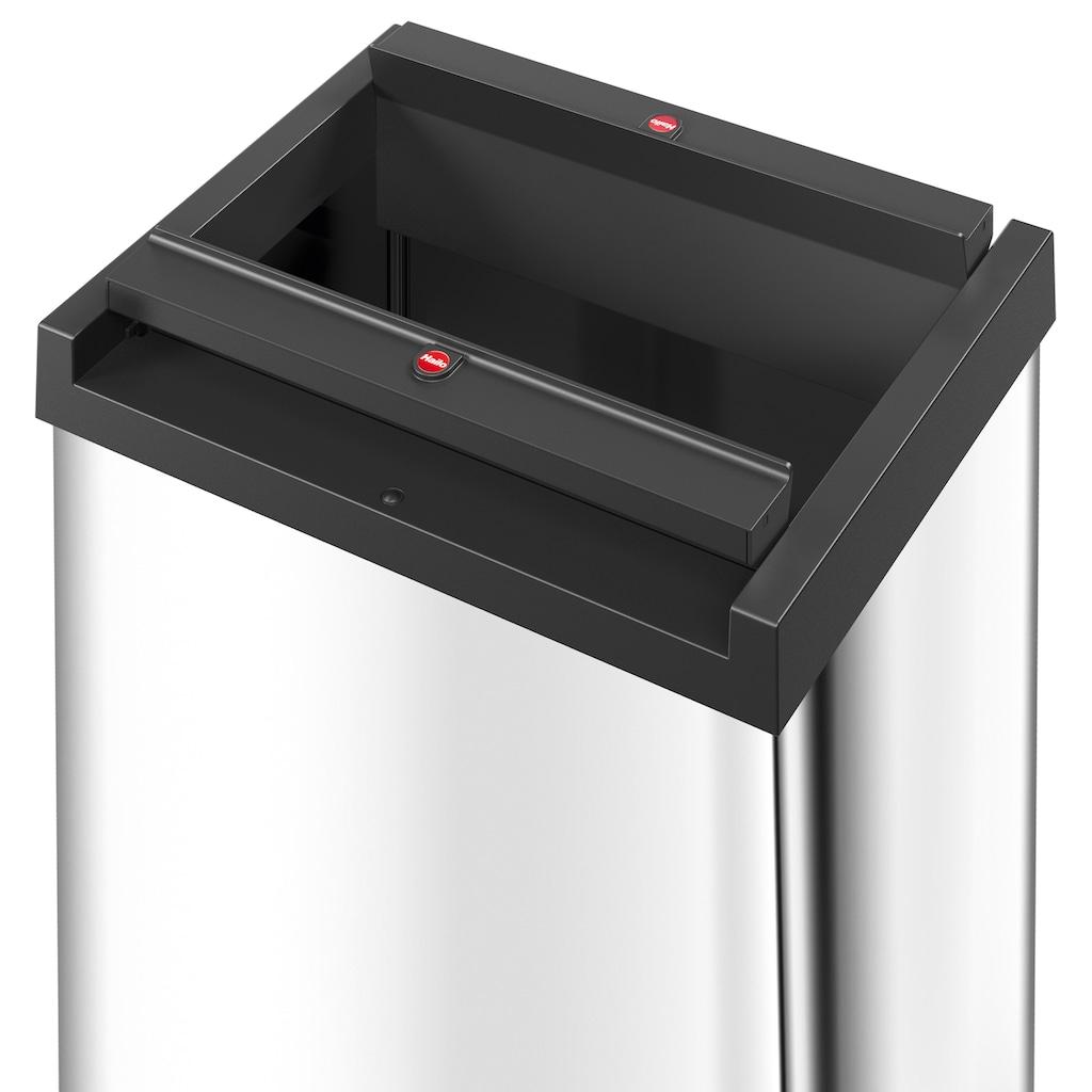 Hailo Mülleimer »Big-Box Swing XL«, silberfarben, Fassungsvermögen ca. 52 Liter