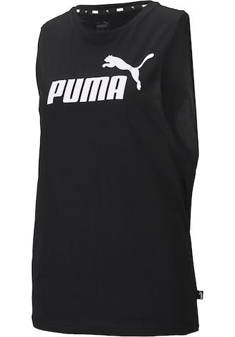 PUMA Tanktop »ESS Cut Off Logo Tank« kaufen