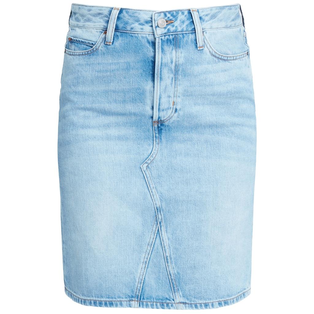 Cross Jeans® Jeansrock »Ellie«, Leicht verwaschen