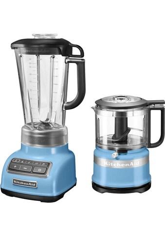 KitchenAid Standmixer 5KSB1585EVB mit Zerkleinerer 5KFC3516EVB, 550 Watt kaufen
