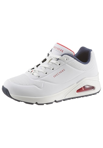 Skechers Wedgesneaker »Uno - Stand on Air«, mit feiner Perforation kaufen