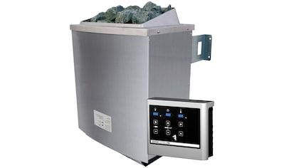 KARIBU Saunaofen »4,5 kW«, inkl. ext. Steuerung »Easy« und 18 kg Saunasteine kaufen