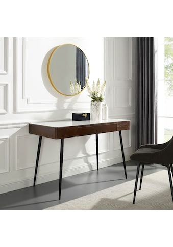 Leonique Schminktisch »Malou«, Konsolentisch, Schreibtisch mit Keramiktischplatte in... kaufen