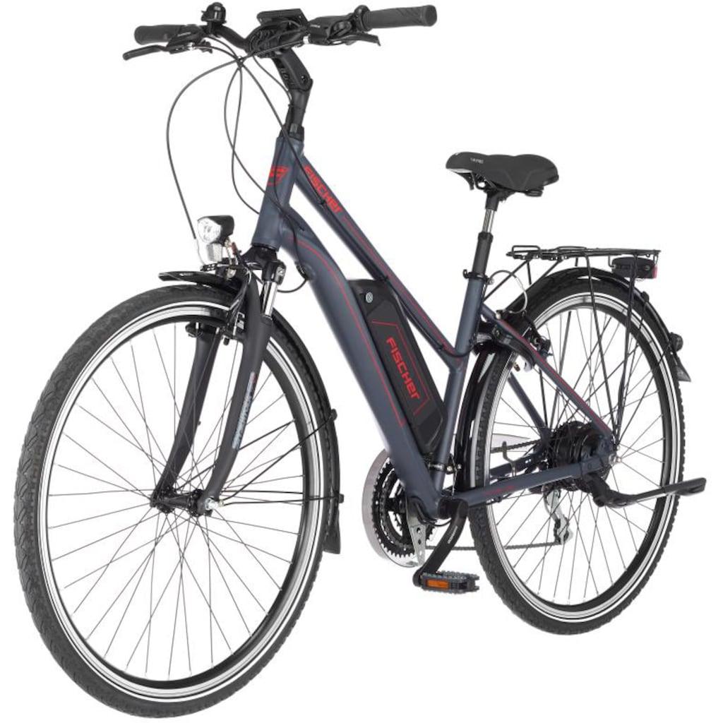 FISCHER Fahrräder E-Bike »ETD 1806«, 24 Gang, Shimano, Acera, Heckmotor 250 W