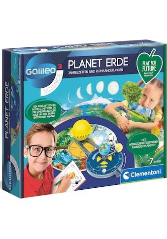 Clementoni® Experimentierkasten »Galileo Planet Erde«, Made in Europe kaufen