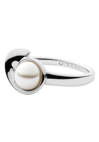 Skagen Perlenring »AGNETHE, SKJ1369040«, mit Perle (synth.) kaufen
