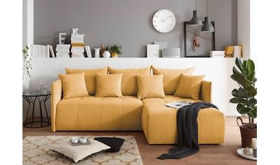 Home affaire 3-Sitzer »Mateo«, mit Bettfunktion und Bettkasten kaufen