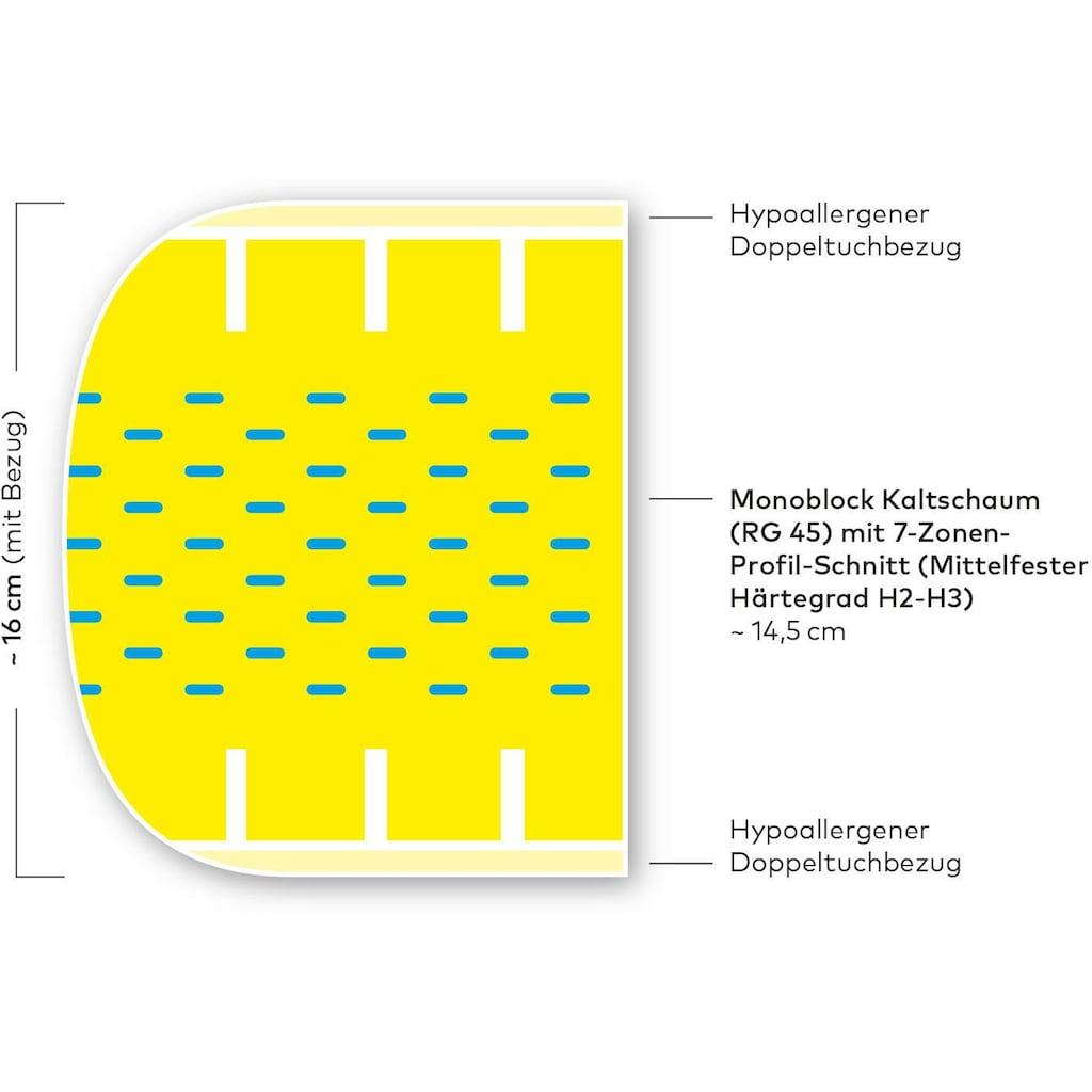 Kaltschaummatratze »Malmö Basic«, Hilding Sweden, 16 cm hoch