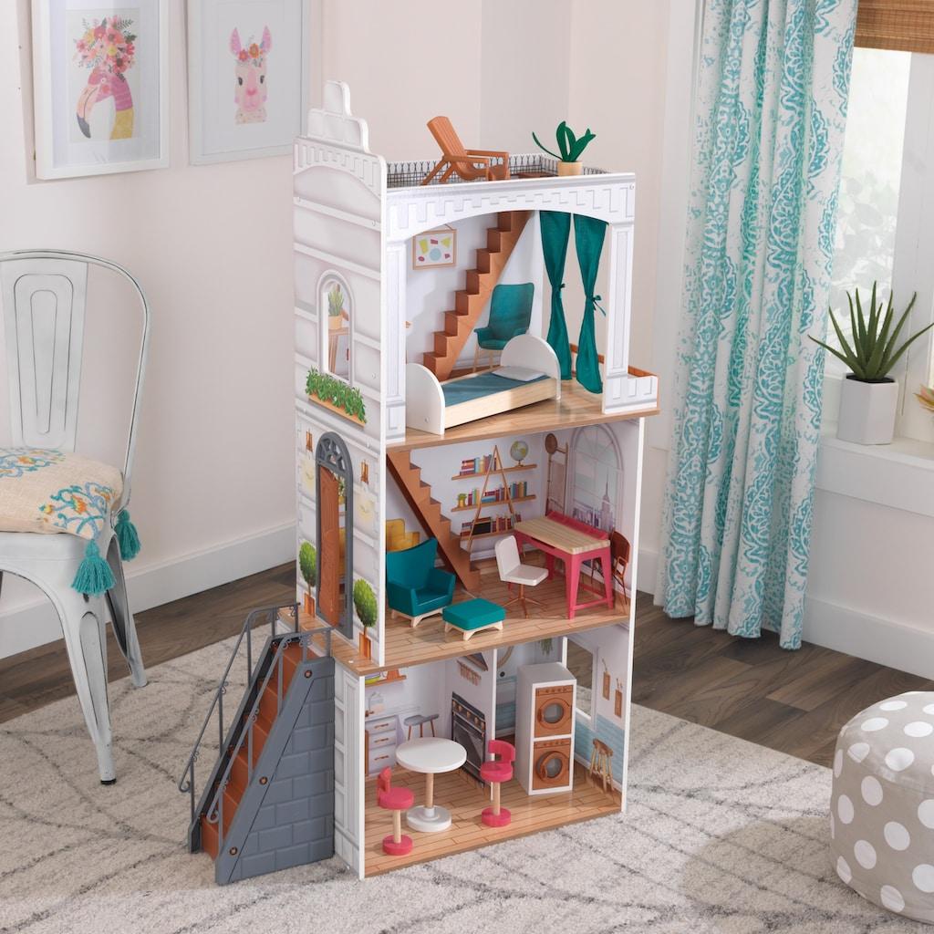KidKraft® Puppenhaus »Rowan«, mit Balkon und Dachterrasse