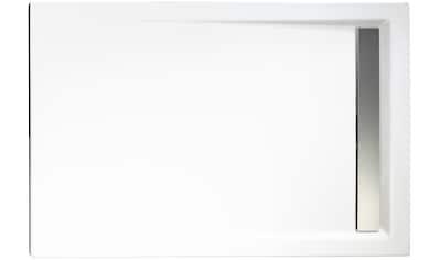 Schulte Duschwanne »extra - flach«, rechteckig mit Rinne, verschiedene Maße kaufen