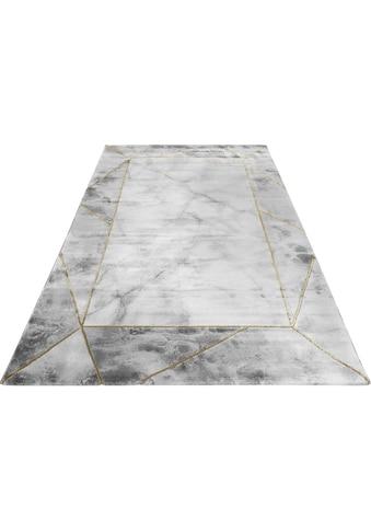Wecon home Teppich »#M.A.R.B.L.E & B«, rechteckig, 12 mm Höhe, Marmor Struktur,... kaufen