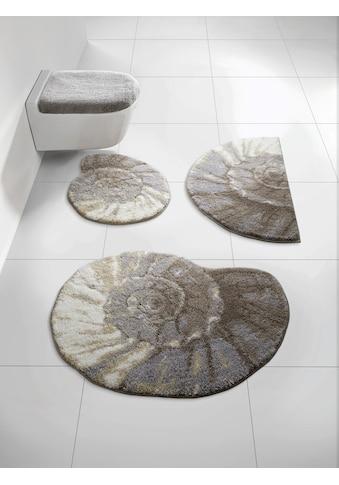 Badgarnitur Ammonit in besonderer Form kaufen