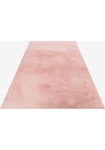 Esprit Hochflor-Teppich »Alice«, rechteckig, 25 mm Höhe, Kunstfell, Kaninchenfell-Haptik, Wohnzimmer kaufen