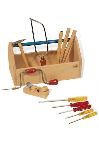 Pinolino® Kinder-Werkzeug-Set »Werkzeugkiste mit Werkzeug«, (Set, 11 tlg.), Made in... kaufen