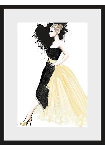 Leonique Bild »Skizze Dress«, 30/40 cm, gerahmt kaufen