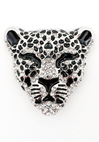 J.Jayz Brosche »Leopard«, mit Strasssteinen kaufen