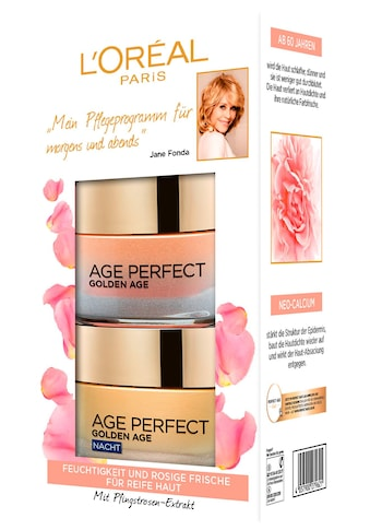 L'ORÉAL PARIS Gesichtspflege-Set »Age Perfect Golden Age Tag und Nacht«, (Set, 2 tlg.), mit Neo-Calcium kaufen