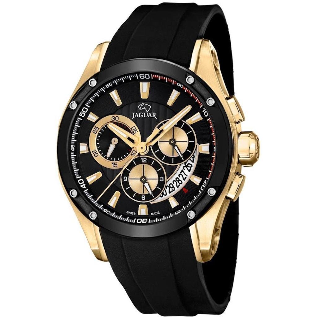 Jaguar Schweizer Uhr »Special Edition, J691/2«, (Set, 3 tlg., mit zusätzlichem Wechselband und Werkzeug)