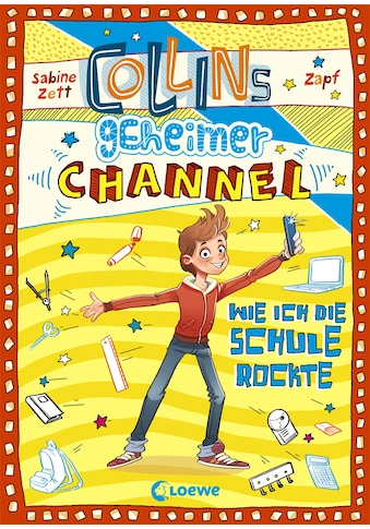 Buch »Collins geheimer Channel - Wie ich die Schule rockte / Sabine Zett, Zapf, Falk... kaufen