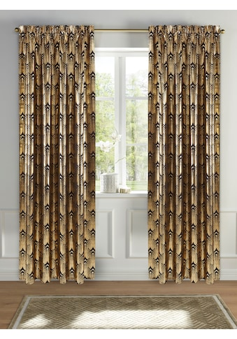 Guido Maria Kretschmer Home&Living Vorhang »Constanze«, blickdicht, Foliendruck mit... kaufen
