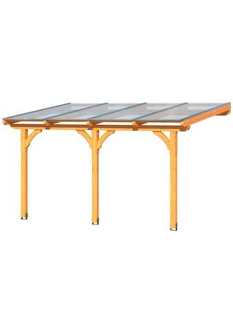SKANHOLZ Terrassendach »Rimini«, inkl. Wandanschlussprofil und Aufschraubstütze kaufen