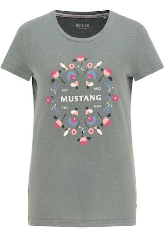 MUSTANG T-Shirt »Alexia C Puff«, kurzarm kaufen