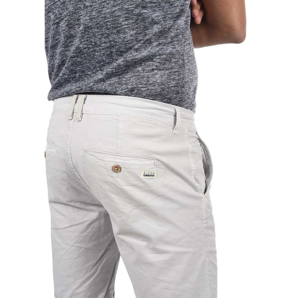 Blend Chinoshorts »20710117«, kurze Hose im Chino-Stil