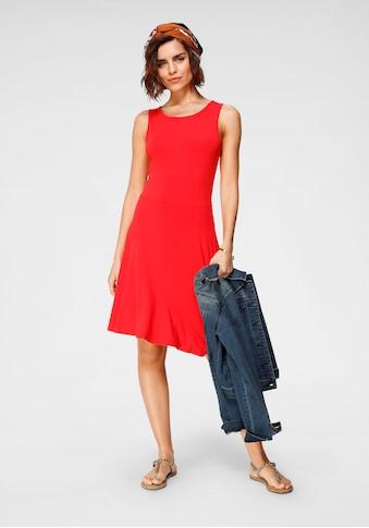 Tamaris Jerseykleid, (2er-Pack), gemustert + uni kaufen