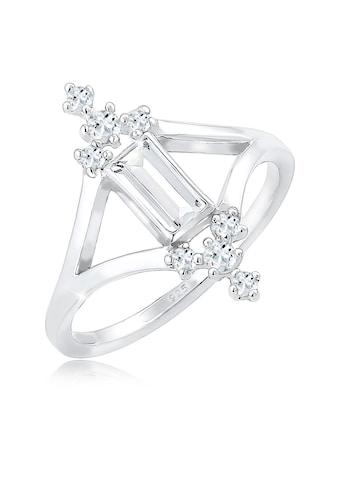 Elli Fingerring »Verlobung Liebe Vintage Topas Edelstein 925 Silber« kaufen